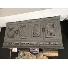 "Decker 32"" Console-antique Grey"