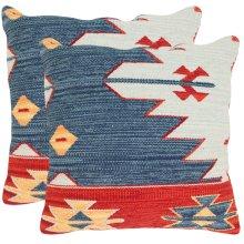Pueblo Pillow - Blue