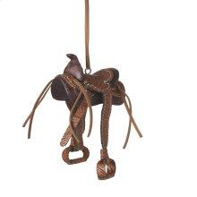 Saddle Ornament.