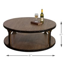 Granada Two-Tier Coffee Table