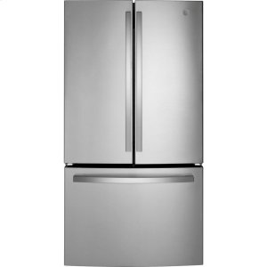 GE® ENERGY STAR® 27.0 Cu. Ft. French-Door Refrigerator - STAINLESS STEEL