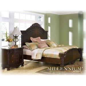 Ashley Furniture North Shore - Dark Brown 3 Piece Bed Set (Queen)