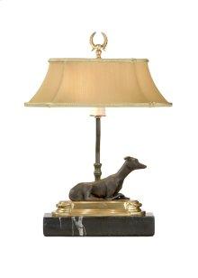 Greyhnd Bkcase Lamp-r