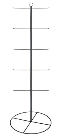 """Black 65"""" 5 Tier/10 Arm Stationary Hanging Display. Product Image"""