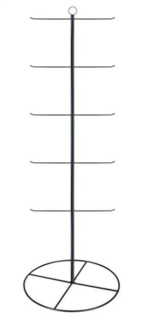 "Black 65"" 5 Tier/10 Arm Stationary Hanging Display."