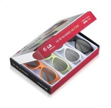 4 Pack - LG Cinema 3D Glasses