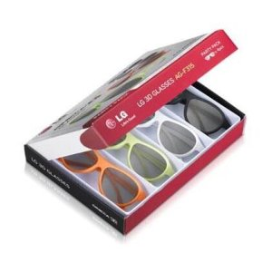 4 Pack - LG Cinema 3D Glasses -
