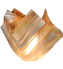 """8""""W Metro Blush Swirl Shade"""