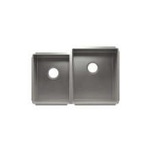 "J7® 003984 - undermount stainless steel Kitchen sink , 12"" × 16"" × 8""  15"" × 18"" × 10"""