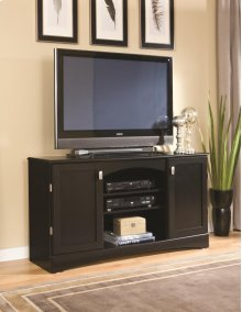 "54"" Black Entertainment Console"