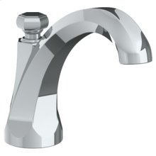 Deck Mounted Extended Bath Spout