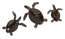 Swanson Sea Turtle Wall Decor - Set of 3