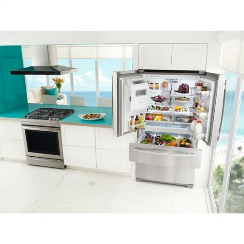 "69"" Standard-Depth French Door Refrigerator"