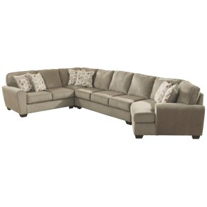 AshleyASHLEYPatola Park 4-piece Sectional With Cuddler
