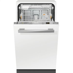 MieleFully integrated dishwashers with hidden controls, cutlery tray, custom panel handle ready, ADA Compliant