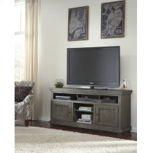 "64"" Console - Distressed Dark Gray Finish"