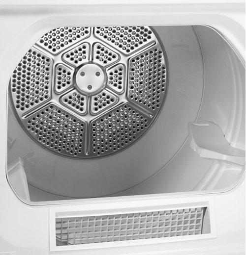 GE® 6.8 cu. ft. capacity Dura Drum gas dryer