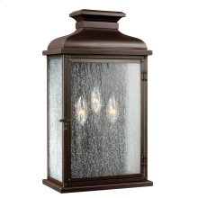 3 - Light Outdoor Sconce