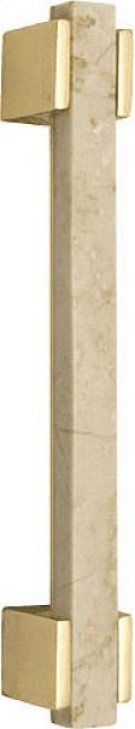 Door Pull With Botticino Marble Product Image