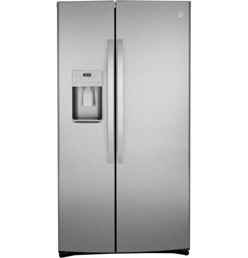 GE® 21.8 Cu. Ft. Counter-Depth Side-By-Side Refrigerator
