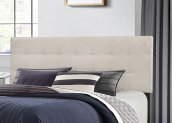 Delaney Headboard - Full/queen - Fog Fabric
