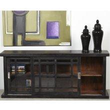 Adesso Large Storage Cabinet - Black
