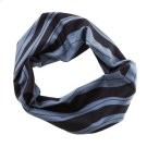 Black & Grey Wave Stretch Headband. Product Image