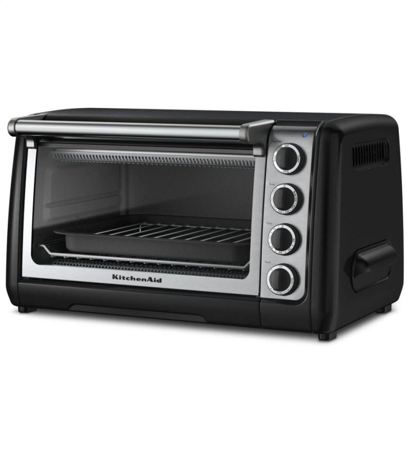 Kitchenaid 10 Countertop Oven Onyx Black Hidden