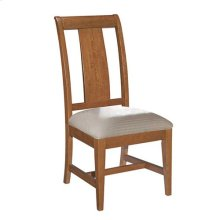 Cherry Park Side Chair Upholstered Seat