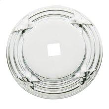 Polished Chrome Round Edinburgh Back Plate