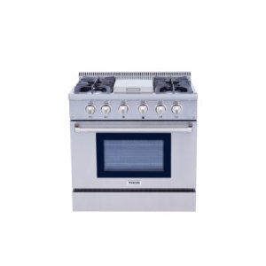 ThorInch Gas Range With Griddle - Hrg3617u
