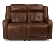 Jude Leather Power Reclining Loveseat with Power Headrests