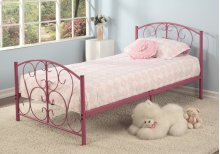 3pc. Twin Metal Bed