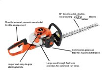 """HC-152 20"""" Double-Sided Hedge Trimmer -"""