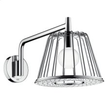 Chrome 1-Jet LampShower Trim designed by Nendo, Wall-Mounted
