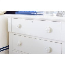 Retreat-Night Table in Saltbox White