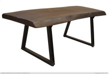 Iron Table Base Black Finish