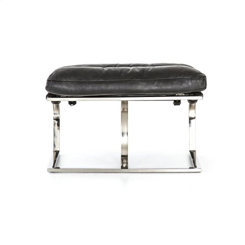 Ottoman Configuration Natural Washed Ebony Cover Goodwyn Chair + Ottoman