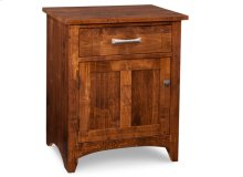 Glengarry 1 Drawer 1 Door Night Stand