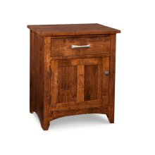Glengarry 1 Drawer 1 Door Night Stand w/ Power Management
