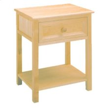 Woodland Natural Nightstand