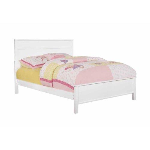 Ashton White Full Bed