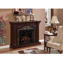 ASTORIA Wall Mantel with Firebox