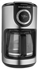 12-Cup Glass Carafe Coffee Maker - Onyx Black Product Image