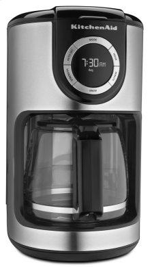 12-Cup Glass Carafe Coffee Maker - Onyx Black