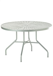 "La'Stratta 42"" Round Dining Umbrella Table"