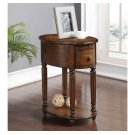 Oval Chairside Table W/power Outlet Product Image