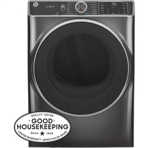 GE®7.8 cu. ft. Capacity Smart Front Load Electric Dryer with Steam