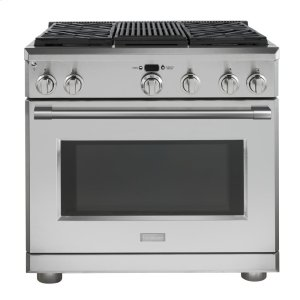 "MonogramMonogram 36"" Dual-Fuel Professional Range with 4 Burners and Grill (Natural Gas) - AVAILABLE EARLY 2020"