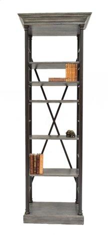 Five Shelves Bookcase